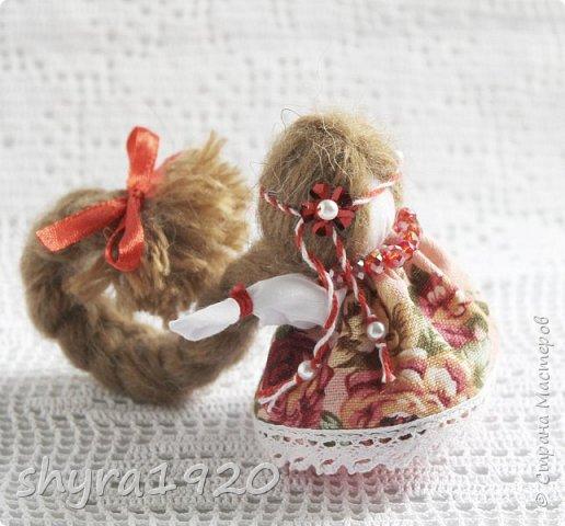 2).    Кукла на Долю, на Счастье. Сделана по всем правилам русских народных кукол. Сшила 28 штук,  показываю по 3 фото каждой. фото 30