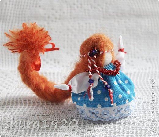 2).    Кукла на Долю, на Счастье. Сделана по всем правилам русских народных кукол. Сшила 28 штук,  показываю по 3 фото каждой. фото 36