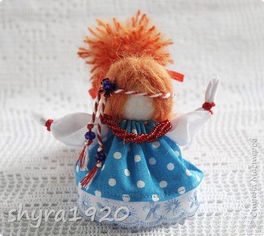 2).    Кукла на Долю, на Счастье. Сделана по всем правилам русских народных кукол. Сшила 28 штук,  показываю по 3 фото каждой. фото 34