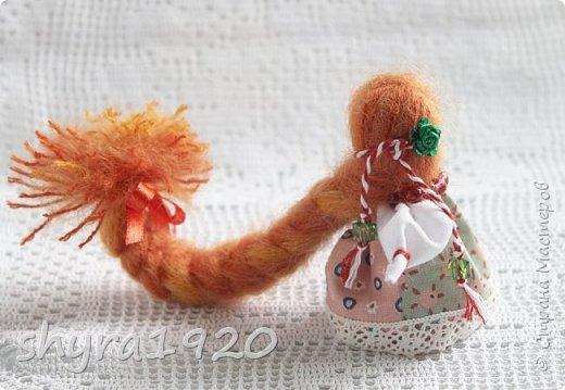 2).    Кукла на Долю, на Счастье. Сделана по всем правилам русских народных кукол. Сшила 28 штук,  показываю по 3 фото каждой. фото 39