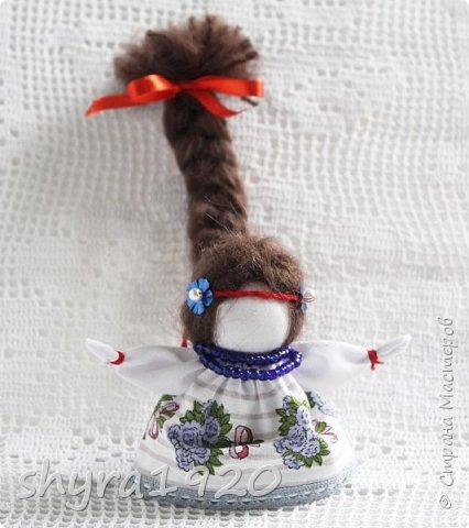 2).    Кукла на Долю, на Счастье. Сделана по всем правилам русских народных кукол. Сшила 28 штук,  показываю по 3 фото каждой. фото 41