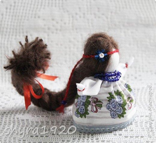 2).    Кукла на Долю, на Счастье. Сделана по всем правилам русских народных кукол. Сшила 28 штук,  показываю по 3 фото каждой. фото 42