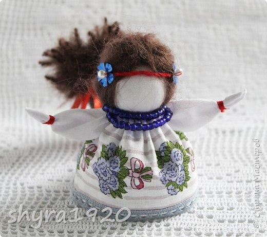 2).    Кукла на Долю, на Счастье. Сделана по всем правилам русских народных кукол. Сшила 28 штук,  показываю по 3 фото каждой. фото 40
