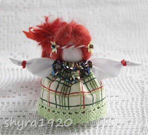 2).    Кукла на Долю, на Счастье. Сделана по всем правилам русских народных кукол. Сшила 28 штук,  показываю по 3 фото каждой. фото 43