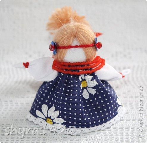 2).    Кукла на Долю, на Счастье. Сделана по всем правилам русских народных кукол. Сшила 28 штук,  показываю по 3 фото каждой. фото 46