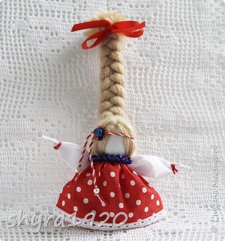 2).    Кукла на Долю, на Счастье. Сделана по всем правилам русских народных кукол. Сшила 28 штук,  показываю по 3 фото каждой. фото 53