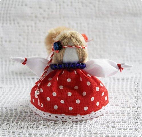 2).    Кукла на Долю, на Счастье. Сделана по всем правилам русских народных кукол. Сшила 28 штук,  показываю по 3 фото каждой. фото 52