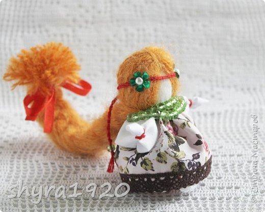 2).    Кукла на Долю, на Счастье. Сделана по всем правилам русских народных кукол. Сшила 28 штук,  показываю по 3 фото каждой. фото 60