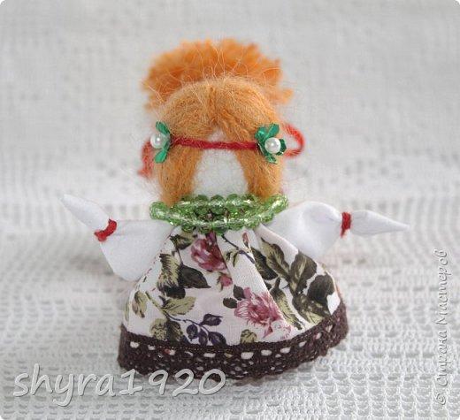 2).    Кукла на Долю, на Счастье. Сделана по всем правилам русских народных кукол. Сшила 28 штук,  показываю по 3 фото каждой. фото 58