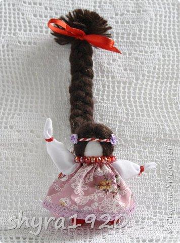 2).    Кукла на Долю, на Счастье. Сделана по всем правилам русских народных кукол. Сшила 28 штук,  показываю по 3 фото каждой. фото 62