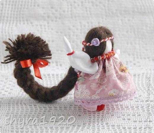 2).    Кукла на Долю, на Счастье. Сделана по всем правилам русских народных кукол. Сшила 28 штук,  показываю по 3 фото каждой. фото 63