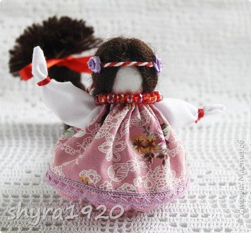 2).    Кукла на Долю, на Счастье. Сделана по всем правилам русских народных кукол. Сшила 28 штук,  показываю по 3 фото каждой. фото 61