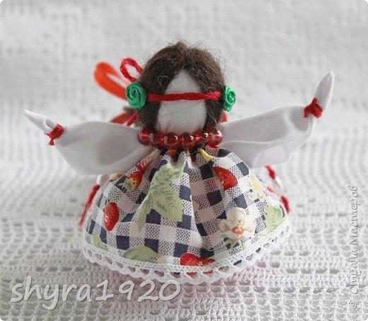 2).    Кукла на Долю, на Счастье. Сделана по всем правилам русских народных кукол. Сшила 28 штук,  показываю по 3 фото каждой. фото 64