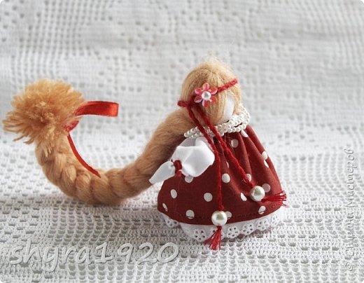 2).    Кукла на Долю, на Счастье. Сделана по всем правилам русских народных кукол. Сшила 28 штук,  показываю по 3 фото каждой. фото 81