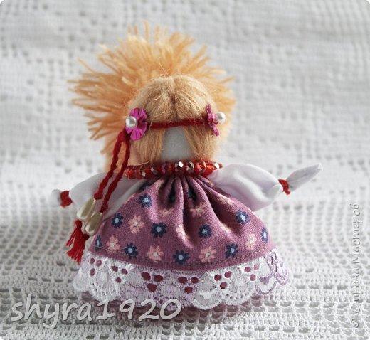 2).    Кукла на Долю, на Счастье. Сделана по всем правилам русских народных кукол. Сшила 28 штук,  показываю по 3 фото каждой. фото 67