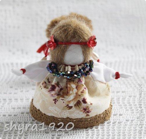 2).    Кукла на Долю, на Счастье. Сделана по всем правилам русских народных кукол. Сшила 28 штук,  показываю по 3 фото каждой. фото 70