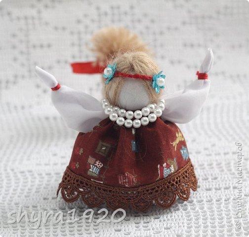 2).    Кукла на Долю, на Счастье. Сделана по всем правилам русских народных кукол. Сшила 28 штук,  показываю по 3 фото каждой. фото 16
