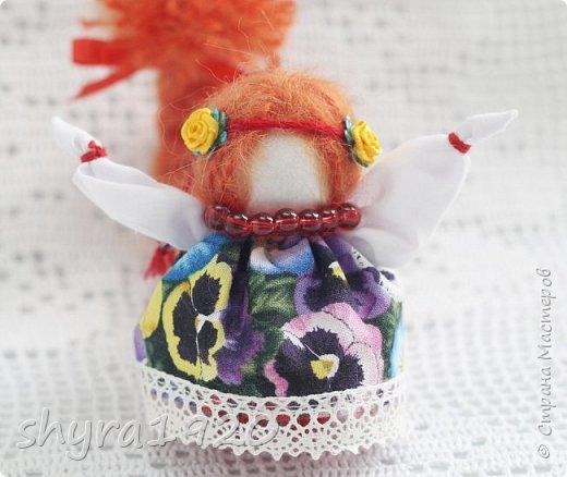 2).    Кукла на Долю, на Счастье. Сделана по всем правилам русских народных кукол. Сшила 28 штук,  показываю по 3 фото каждой. фото 76
