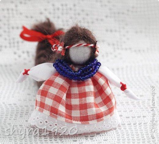2).    Кукла на Долю, на Счастье. Сделана по всем правилам русских народных кукол. Сшила 28 штук,  показываю по 3 фото каждой. фото 31