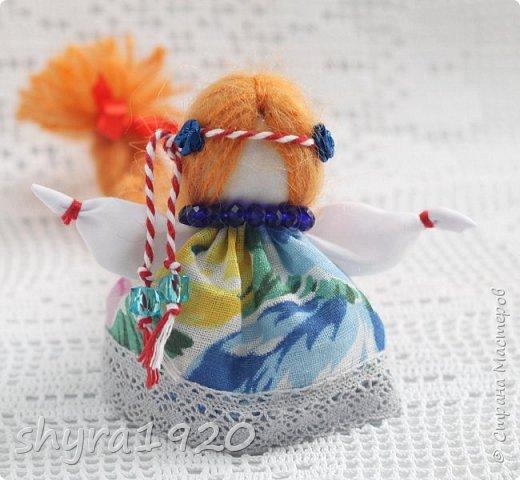 2).    Кукла на Долю, на Счастье. Сделана по всем правилам русских народных кукол. Сшила 28 штук,  показываю по 3 фото каждой. фото 4