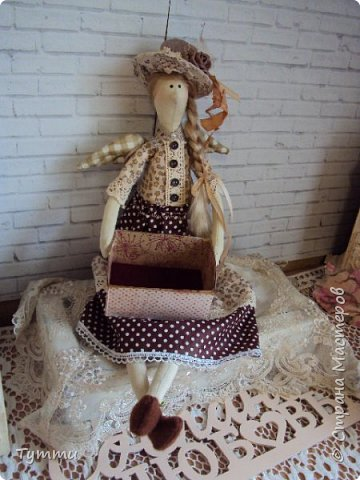 Девочка Совушка с сумочкой фото 4
