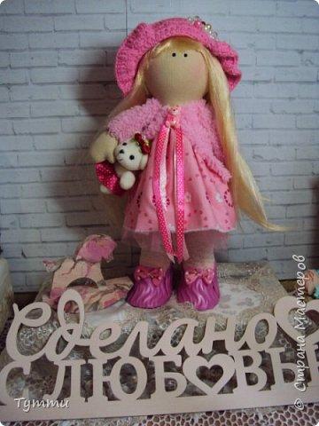 Девочка Совушка с сумочкой фото 6