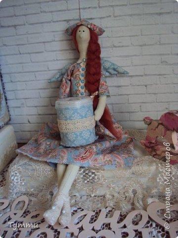 Девочка Совушка с сумочкой фото 5
