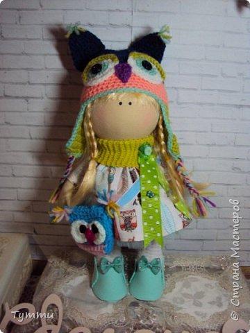 Девочка Совушка с сумочкой фото 1
