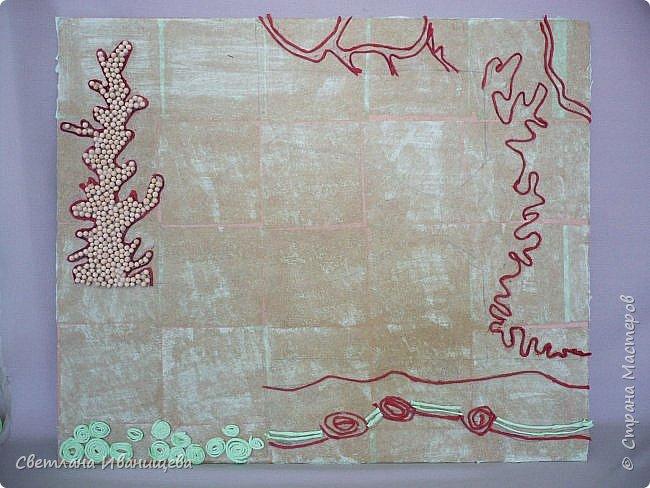 """Панно """"Мечты сбываются"""" выполнено в  смешанной технике пейп  арт и лепка из соленого теста. Размер панно 60 на 80 см. фото 2"""