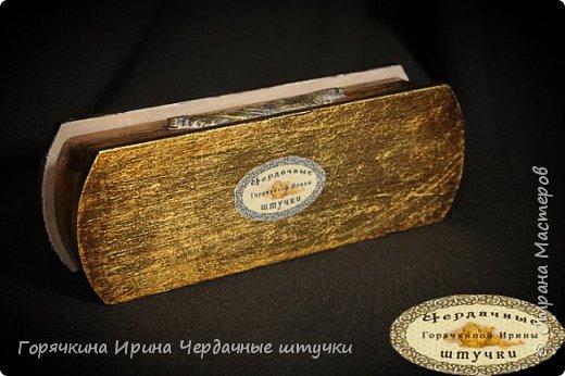 "Шкатулка под браслет ""Golden age"" фото 2"
