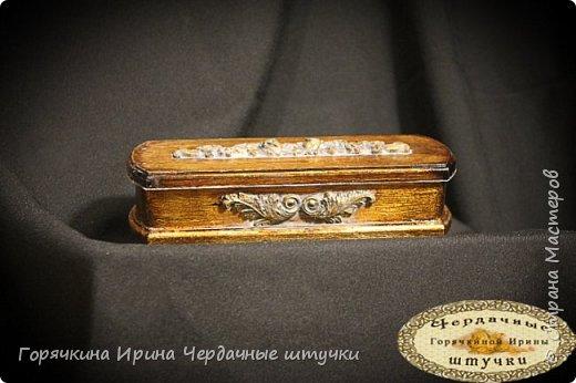 "Шкатулка под браслет ""Golden age"" фото 1"