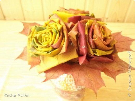 Доброго времени суток всем мастерам и мастерицам СМ. Несмотря на дожди каждый день, на улице все же одна из самых красивейших пор года - золотая осень . Так хочется собрать все листья, наделать различных поделок.  фото 2