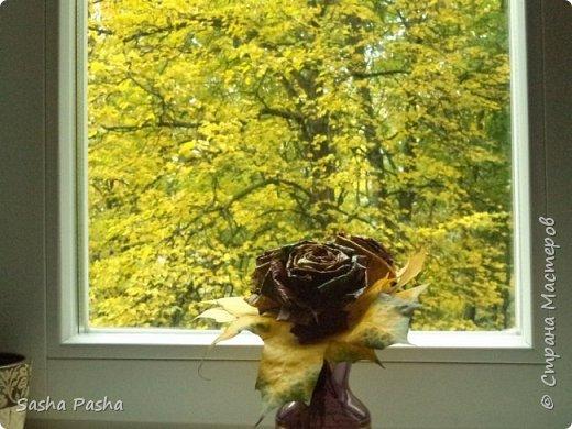 Доброго времени суток всем мастерам и мастерицам СМ. Несмотря на дожди каждый день, на улице все же одна из самых красивейших пор года - золотая осень . Так хочется собрать все листья, наделать различных поделок.  фото 8