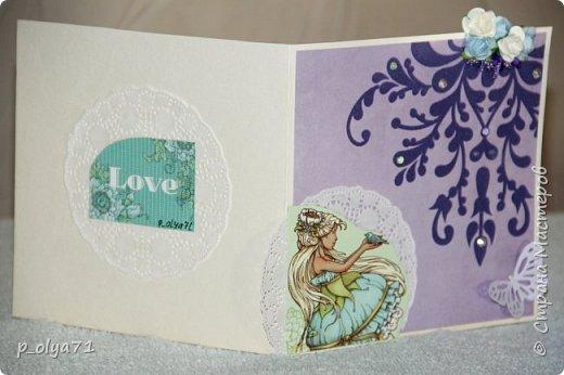 Здравствуйте!! Очень рада всем!!  В сентябре сделала открыточки и хочу показать их вам!)) фото 12