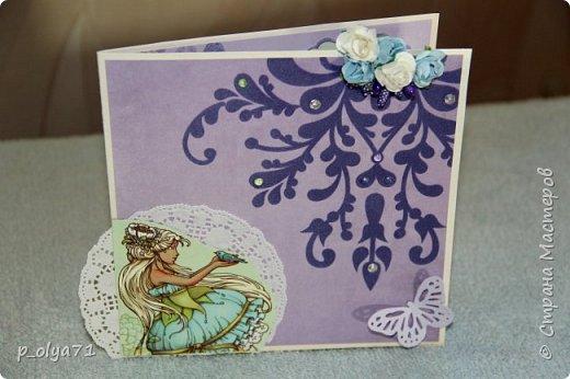 Здравствуйте!! Очень рада всем!!  В сентябре сделала открыточки и хочу показать их вам!)) фото 11
