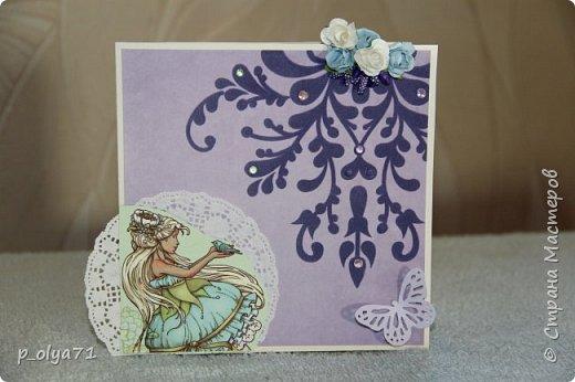 Здравствуйте!! Очень рада всем!!  В сентябре сделала открыточки и хочу показать их вам!)) фото 10