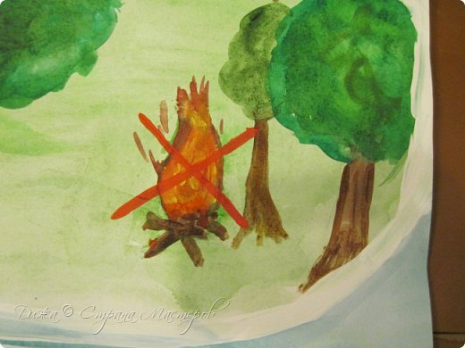 """Всем огромной приветик! Представляю мою первую стенгазету, которую я нарисовала на школьный конкурс. Плакат называется """"Мы за мир"""" На голубом фоне ромашка. Нарисовала на ватмане А1. Использовала акварельные краски, гуашь, акриловые краски, фломастеры и карандаши.  На лепестках всё что угрожает мирной жизни на земле.  фото 7"""