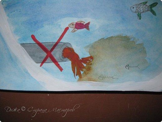 """Всем огромной приветик! Представляю мою первую стенгазету, которую я нарисовала на школьный конкурс. Плакат называется """"Мы за мир"""" На голубом фоне ромашка. Нарисовала на ватмане А1. Использовала акварельные краски, гуашь, акриловые краски, фломастеры и карандаши.  На лепестках всё что угрожает мирной жизни на земле.  фото 14"""