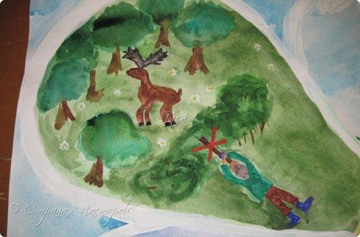 """Всем огромной приветик! Представляю мою первую стенгазету, которую я нарисовала на школьный конкурс. Плакат называется """"Мы за мир"""" На голубом фоне ромашка. Нарисовала на ватмане А1. Использовала акварельные краски, гуашь, акриловые краски, фломастеры и карандаши.  На лепестках всё что угрожает мирной жизни на земле.  фото 17"""