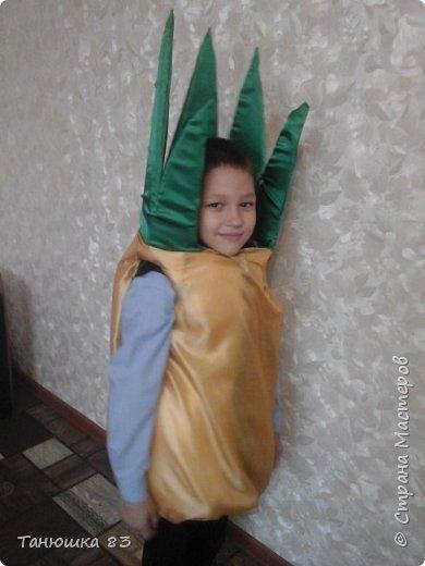 Привет всем.  В школе праздник осени сыну дали слова выучить и костюм придумать.  фото 1