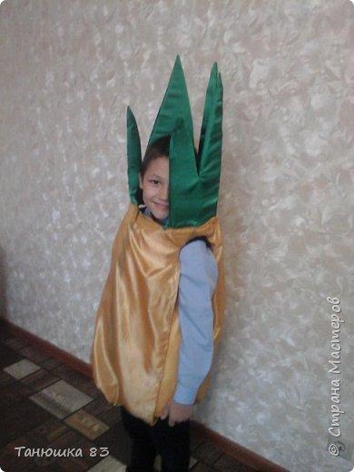 Привет всем.  В школе праздник осени сыну дали слова выучить и костюм придумать.  фото 3