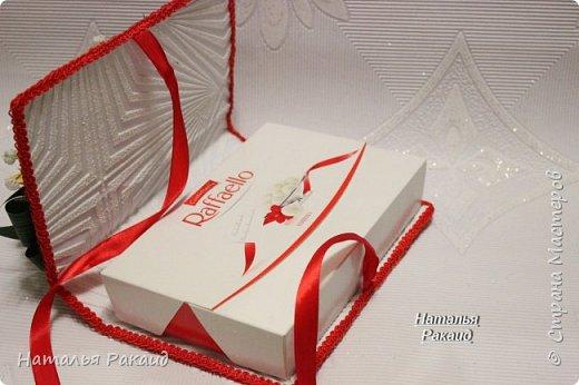 Оформление коробки конфет в виде портфеля. фото 6
