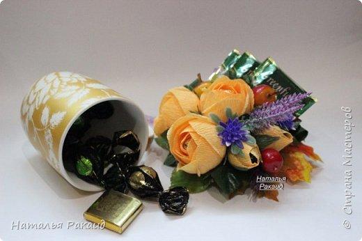 Оформление коробки конфет в виде портфеля. фото 7
