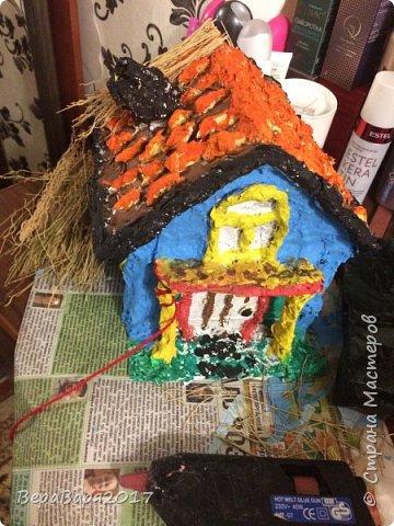 Так всё начиналось...Каркас для будущего дома готов. фото 12
