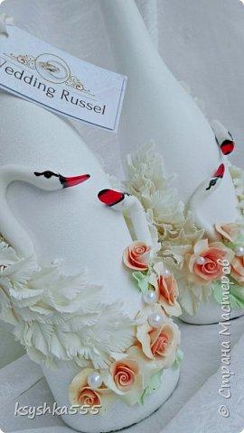 Набор свадебных аксессуаров «Чайная роза». Свадьба — самый волнительный день. В нем все должно быть идеально. Утонченная романтичность чайных роз подчеркнет легкую чувственность этого праздника. фото 10