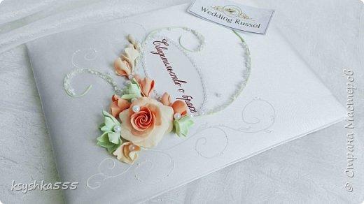 Набор свадебных аксессуаров «Чайная роза». Свадьба — самый волнительный день. В нем все должно быть идеально. Утонченная романтичность чайных роз подчеркнет легкую чувственность этого праздника. фото 7