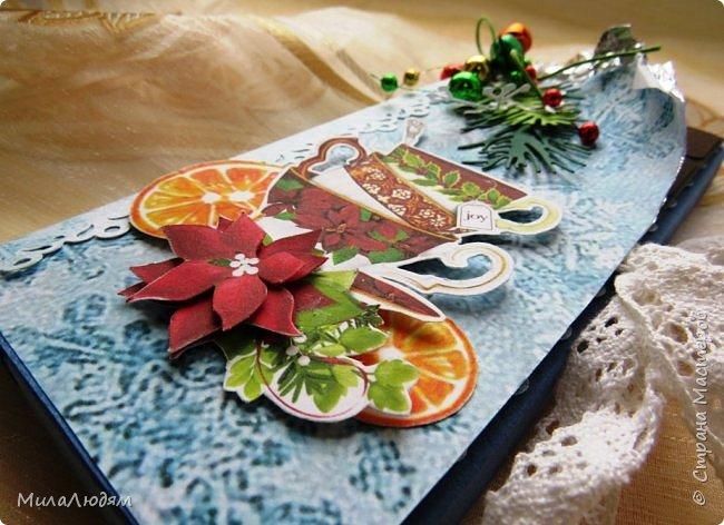 """Люди добрые, простите меня, что не умею загружать мало фото, и мучаю вас большим количеством. Сегодня я к вас со своими первыми шоколадницами созданными для  II ЭТАП """"Открытка-шоколадница""""   http://blog.agiart.ru/2017/10/2.html ТЕМА - Новый год, Рождество, зима ФОРМА - открытка-упаковка для шоколада ОЭ (обязательный элемент) - цвет и фактура плитки шоколада фото 3"""