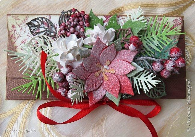 """Люди добрые, простите меня, что не умею загружать мало фото, и мучаю вас большим количеством. Сегодня я к вас со своими первыми шоколадницами созданными для  II ЭТАП """"Открытка-шоколадница""""   http://blog.agiart.ru/2017/10/2.html ТЕМА - Новый год, Рождество, зима ФОРМА - открытка-упаковка для шоколада ОЭ (обязательный элемент) - цвет и фактура плитки шоколада фото 22"""