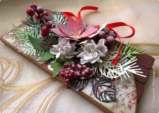 """Люди добрые, простите меня, что не умею загружать мало фото, и мучаю вас большим количеством. Сегодня я к вас со своими первыми шоколадницами созданными для  II ЭТАП """"Открытка-шоколадница""""   http://blog.agiart.ru/2017/10/2.html ТЕМА - Новый год, Рождество, зима ФОРМА - открытка-упаковка для шоколада ОЭ (обязательный элемент) - цвет и фактура плитки шоколада фото 27"""