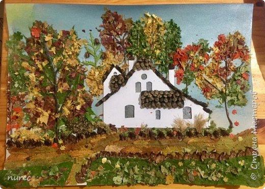 осень в Поленово. поделка в детский сад фото 1